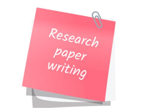 Research Paper Help Writing a Research Paper